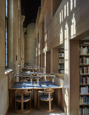 Magdalen College Library, Oxford