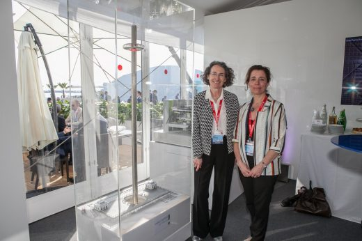 MIPIM 2017 i360 and Julia Barfield Magali Thomson