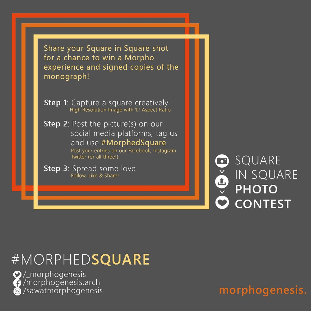 #MorphedSquare Architecture Competition