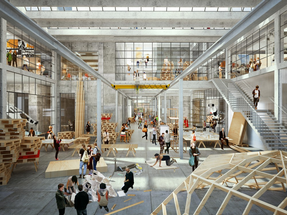 new aarhus school of architecture design competition   e