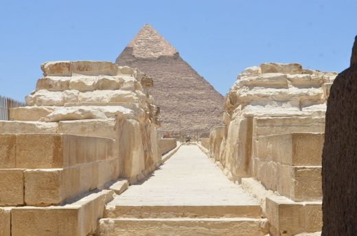 Pyramids architecture in Egpyt