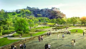Ross Pavilion Design Edinburgh Competition design by wHY