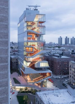 The Roy and Diana Vagelos Education Center, Columbia University design by Diller Scofidio + Renfro