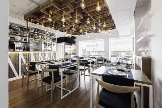 Restaurant design by NAN Arquitectos