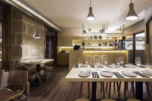 Contemporary Cafe Interior in Pontevedra by NAN Arquitectos