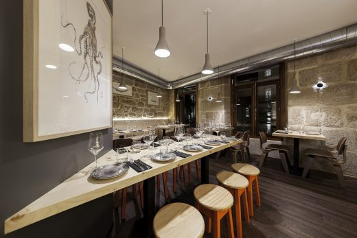Contemporary Cafe Interior in Spain design by NAN Arquitectos