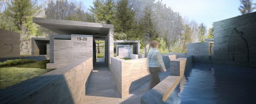 Sandy Hook Permanent Memorial Commission contest entry by Collaborative Architecture