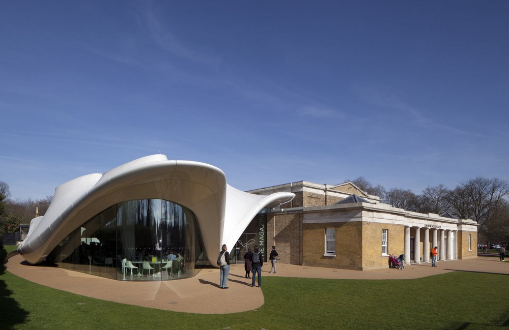 Serpentine Sackler Gallery Zaha Hadid In London E Architect