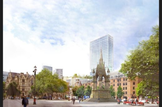 St Michael's Manchester Development new design by Hodder + Partners