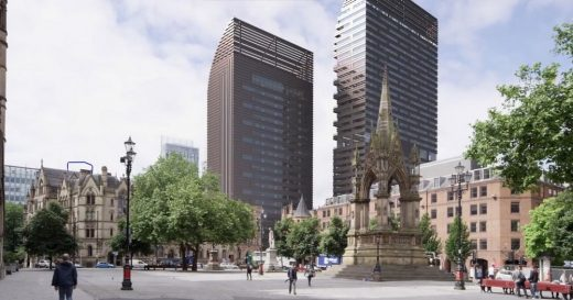 St Michael's Manchester Development by Gary Neville - new design by Hodder + Partners
