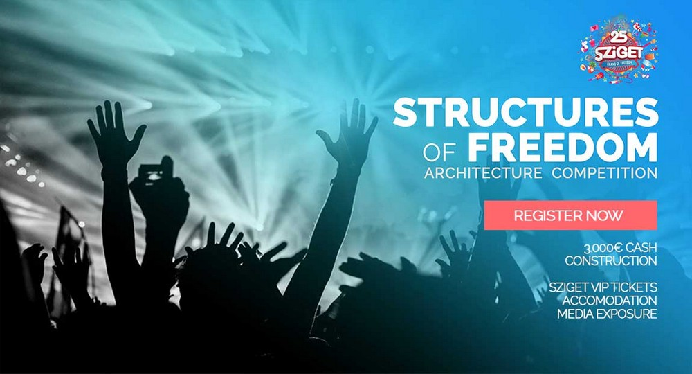 Structures of Freedom Competition for Sziget Festival
