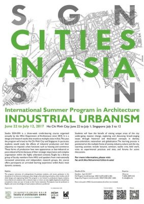 2017 Cities in Asia Summer Programme