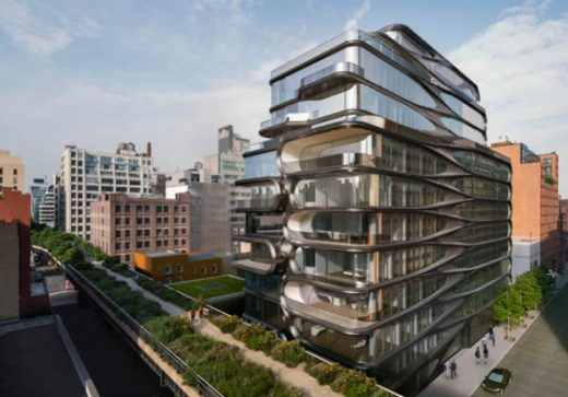 520 West 28th Street NYC by Zaha Hadid Architects | www.e-architect.co.uk