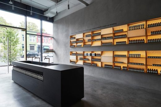 Aesop Shaw Washington, D.C. interior | www.e-architect.co.uk