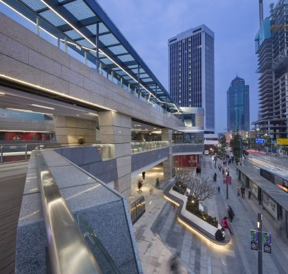 Gateway One Shekou in Shenzhen landscape