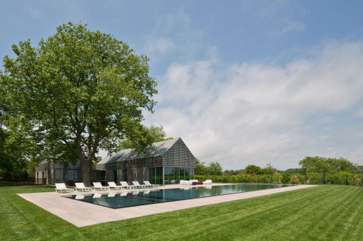 Guest House in Wainscott, The Hamptons | www.e-architect.co.uk