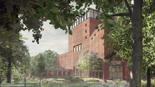 Lambeth Palace Library and Archive design