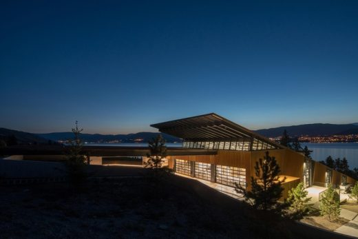 Martin's Lane Winery in Kelowna design by Olson Kundig Architects