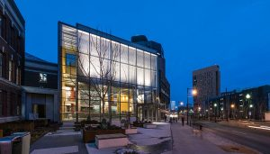 Massachusetts College of Art and Design, Design and Media Center | www.e-architect.com