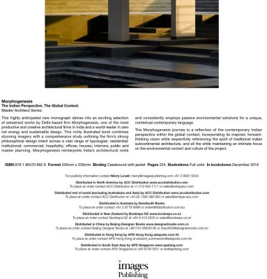 Morphogenesis Architects Book image