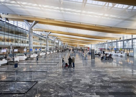 New Oslo Airport Building