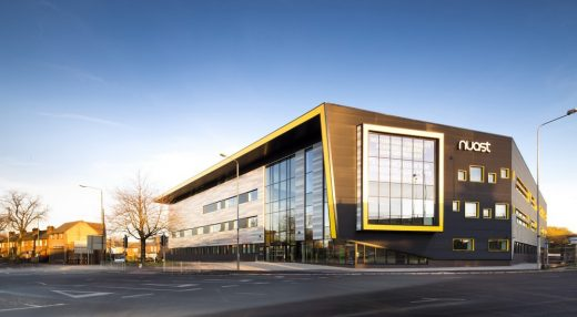 Nottingham College City Hub Building by Bond Bryan Architects