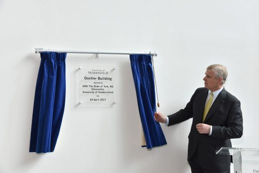 Oastler Building, University of Huddersfield opening
