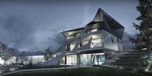 Parametric Residence in Uspenskoe | www.e-architect.com
