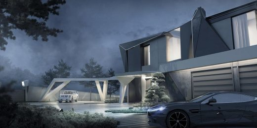 Parametric Residence in Uspenskoe | www.e-architect.co.uk