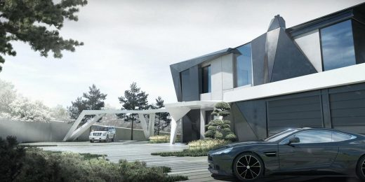 Parametric Residence in Moscow | www.e-architect.com