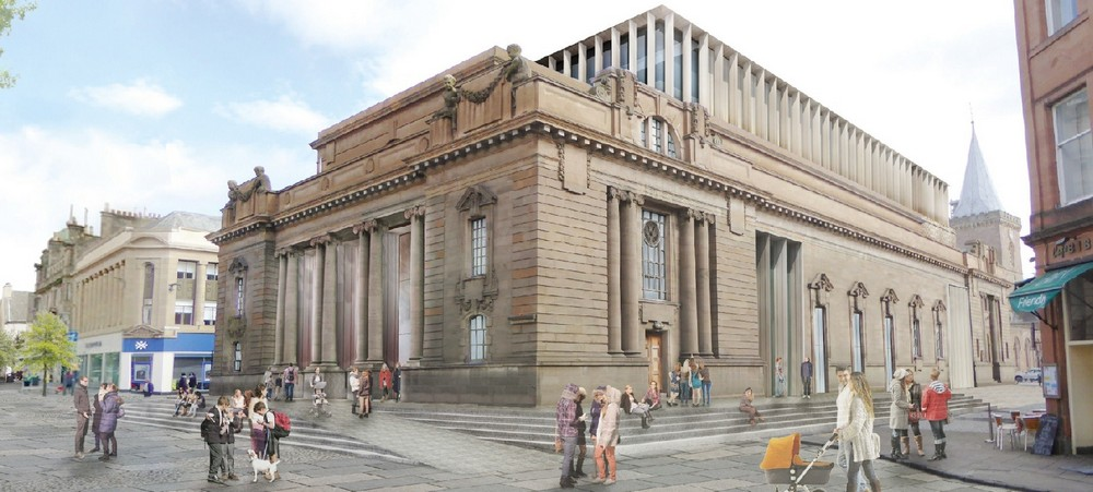 Perth city hall shortlisted design by hoskins e architect for Building designers perth