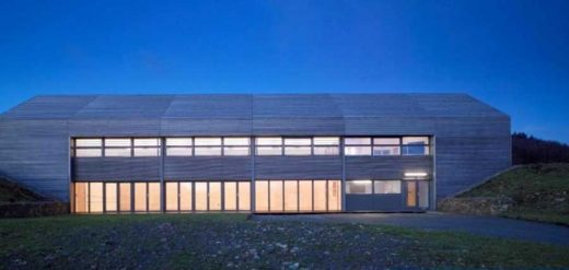 Raasay Community Hall on Isle of Skye by Dualchas Archietcts