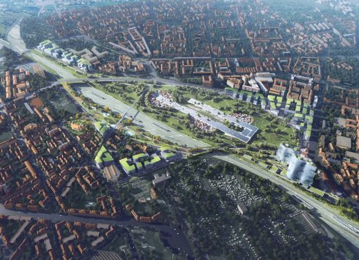 Scali Milano Masterplan by MAD Architects
