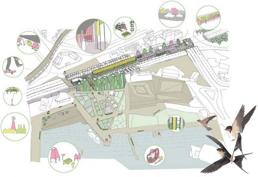 LFA Silvertown Flyover design competition you&me architecture