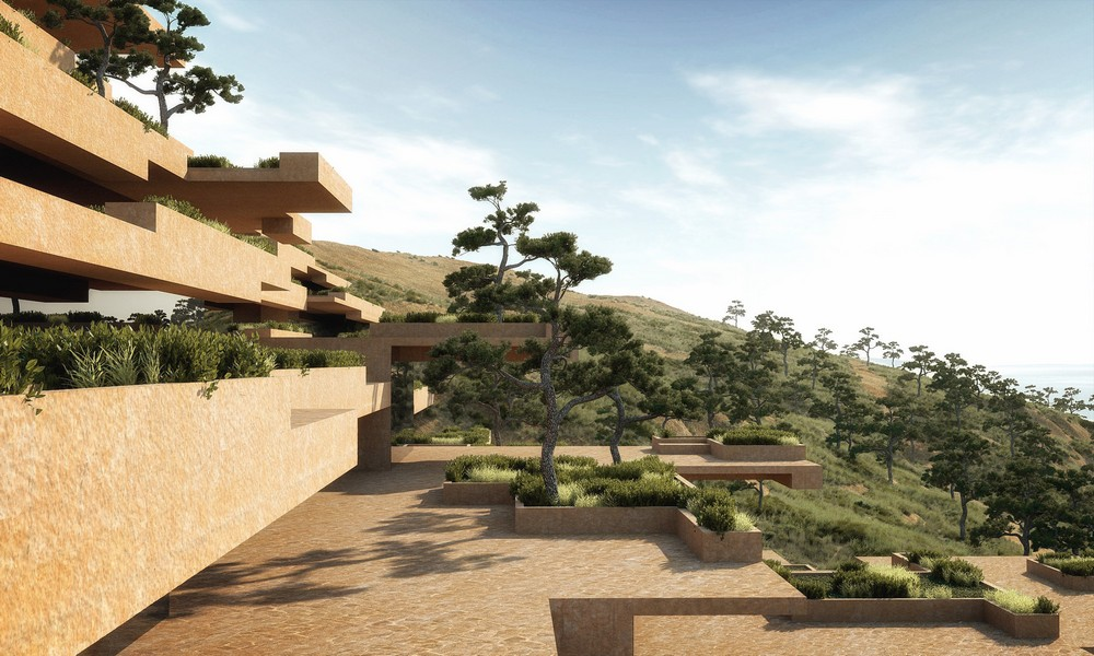 Stone terrace resort 5 e architect for What is a hotel terrace