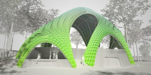 The Chrysalis pavilion by Arup | www.e-architect.co.uk