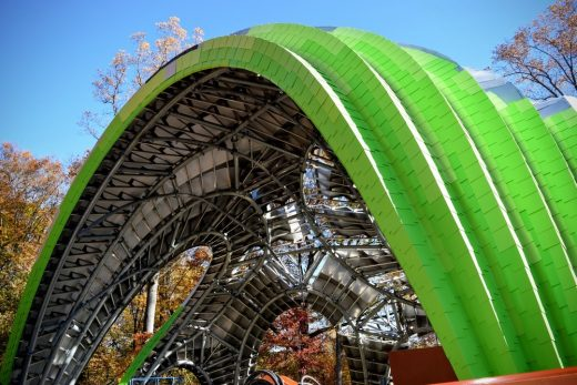 Pavilion in Symphony Woods, Columbia, MD, USA, by Arup