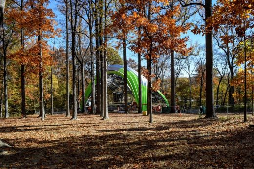 The Chrysalis, Symphony Woods in Maryland