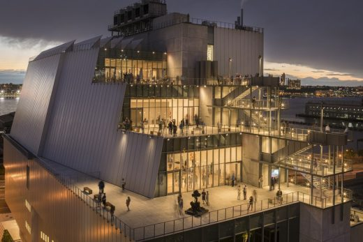 Whitney Museum of American Art New Building USA
