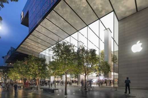Apple Orchard Road Singapore Architecture News