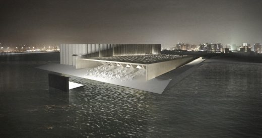ELEMENTAL Art Mill International Design Competition Doha winning design | www.e-architect.com