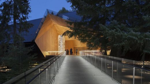 Best Architecture Over 1,000 Square Metres - Patkau Architects: Audain Art Museum, Whistler, Canada