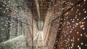 Best Lighting Installations - CannonDesign and NEUF Architect(e)s: CHUM Passerelle, Montreal, Quebec, Canada.
