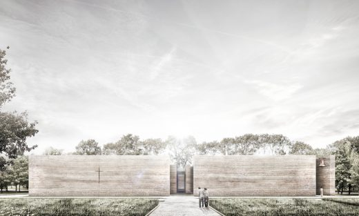 Unbuilt Concept - Adamiczka Consulting: A Church for the Local Community, Wroclaw, Poland