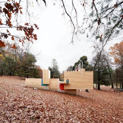 Best Recreational Architecture - Matter Design and FR|SCH Projects: Five Fields Play Structure, Lexington, U.S.