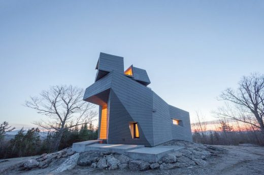 Best Architecture Under 1,000 Square Metres - Anmahian Winton Architects: Gemma Observatory, New Hampshire, U.S.