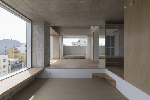 Best Residential Architecture, Multi-Unit - Hiroyuki Ito Architects: Tatsumi Apartment House, Tokyo, Japan