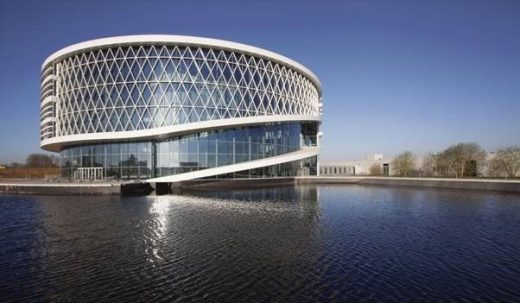 Barco One Kortrijk, Belgium Headquarters Building