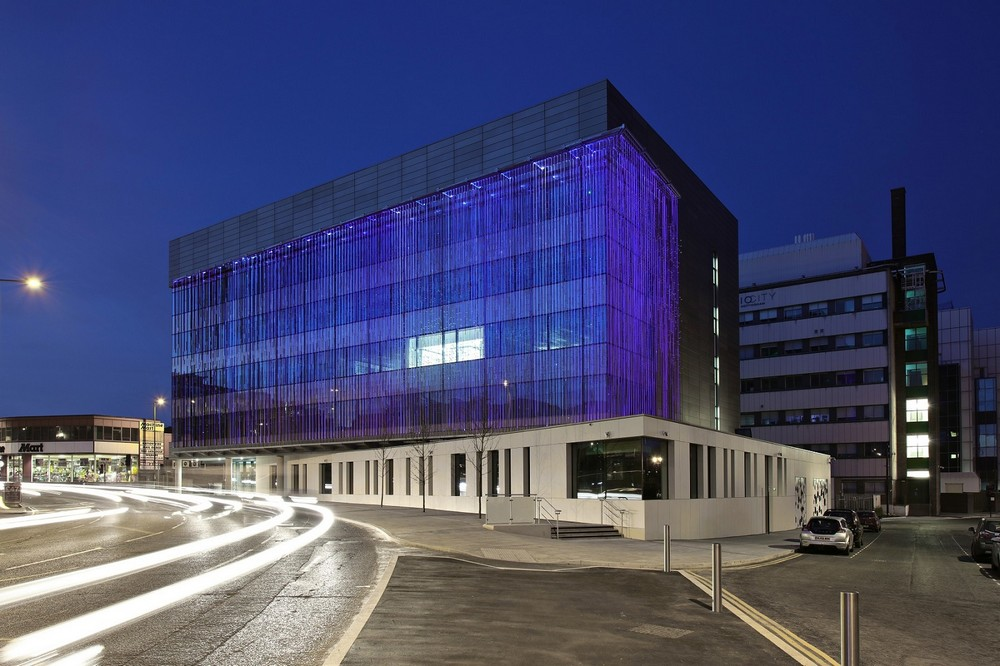 New Bioscience Building in Nottingham