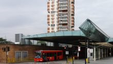 Canada Water Bus Station London building